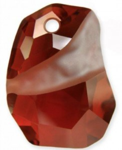 Swarovski 6191 27 mm RED MAGMA