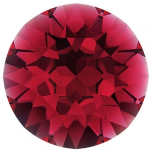 Swarovski 1028 PP11 RUBY FOILED